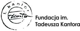 Fundacja im. Tadeusza Kantora