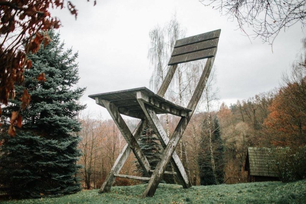 Hucisko Pomnik Krzesła Tadeusz Kantor, Tadeusz Kantor Foundation