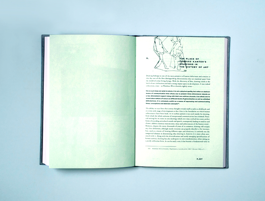 Lech Stangret - Tadeusz Kantor Drawing