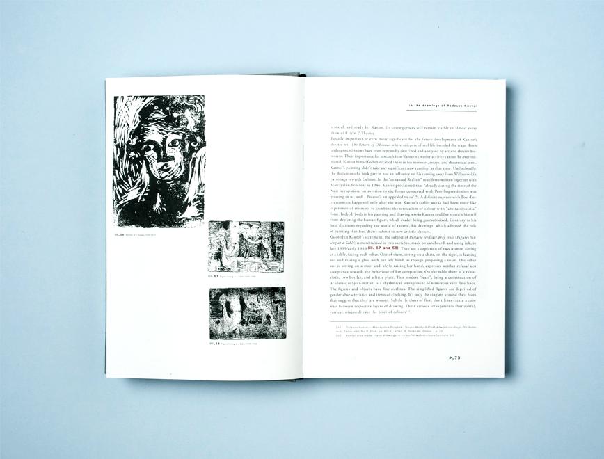 Lech Stangret - Tadeusz Kantor Drawing 08