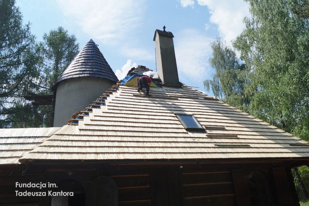 Remont domu Tadeusza Kantora iMarii Stangret wHucisku
