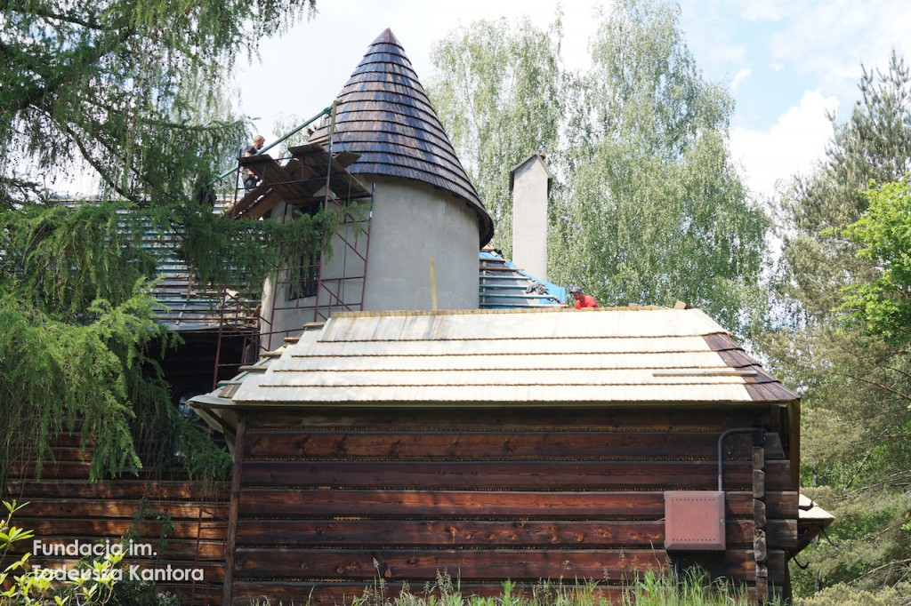 Remont domu Tadeusza Kantora iMarii Stangret wHucisku 2020